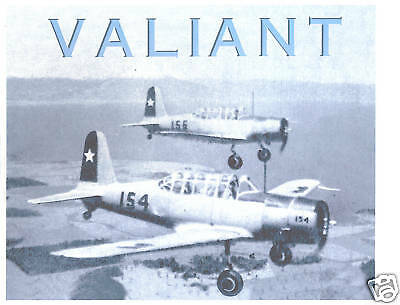 Monograph - Chile Air Force - BT-13A Valiant (MN8)