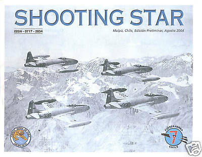 Monograph - Chile Air Force F-80C Shooting Star (MN11)