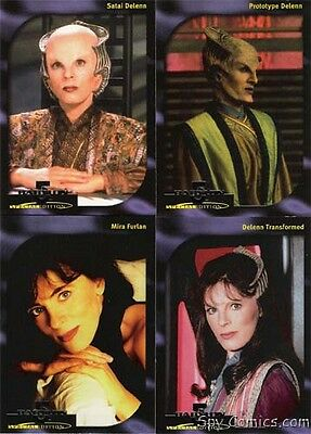 Babylon 5 Special Edition Faces Of Delenn (Mira Furlan) Chase Card (4) Set D1-D4