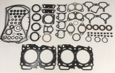 FULL HEAD GASKET SET FITS 1.4mm FORESTER IMPREZA LEGACY TURBO 2.0 EJ205 EJ208