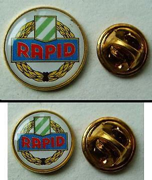 Old pin-button badge Football FC  RAPID set 2 pc