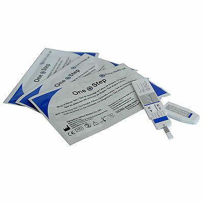 5 x ONE STEP Cocaine, Crack Drug PANEL Test Kit
