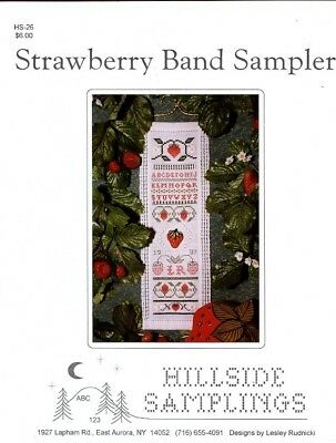 Strawberry Band Sampler Hardanger Pattern Booklet