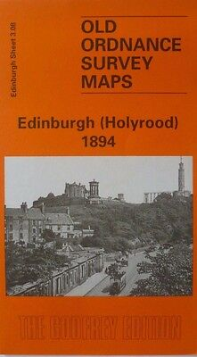 Old Ordnance Survey Detailed Maps Edinburgh Holyrood Scotland 1894 Sheet 3.08
