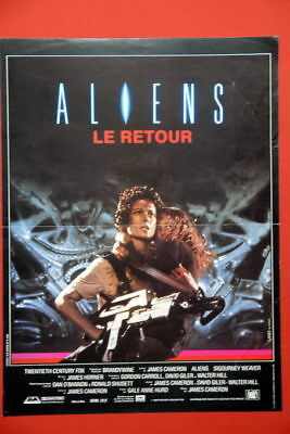 Aliens Horror Sci-Fi Classic 1986 French Movie Poster
