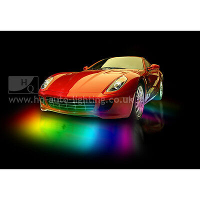 Remote Under Car Body LED Neon Light fit Ford FIESTA