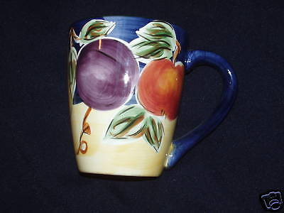 TABLETOPS UNLIMITED AMELIA CUP MUG FRUIT COLORMATE HOME