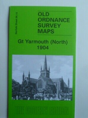Old Ordnance Survey Maps Norfolk Gt Yarmouth (North) 1904  Sheet 66.15 New
