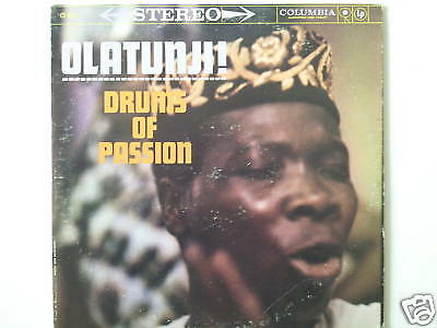 "Michael Olatunji - Drums Of Passion 12"" Us Lp (L2237)"