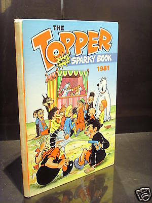 Dc Thomson The Topper Book 1981 Gc