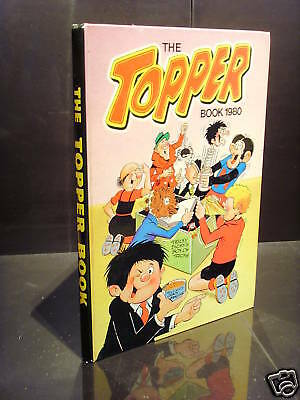 Dc Thomson The Topper Book 1980 Gc