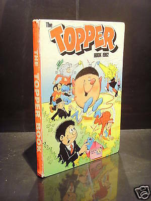 Dc Thomson The Topper Book 1982