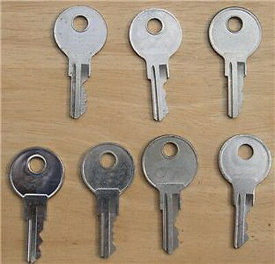 Spare Key For Rv-Truck-Tool Box-T Hdl-Toppers-Truck Canopy-Camper Auc!