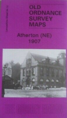 OLD ORDNANCE SURVEY MAPS ATHERTON NE LANCASHIRE 1907 Godfrey Edition New