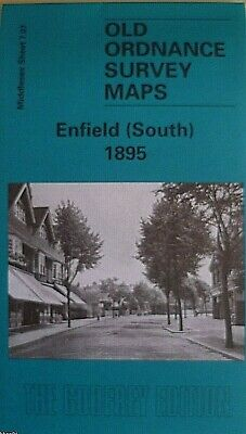 Old Ordnance Survey Maps Enfield South  Middlesex 1895 Godfrey Edition New Offer