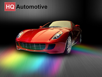 Remote Controled 7 Colours RGB Under Car Body LED Neon Light Strips KIT