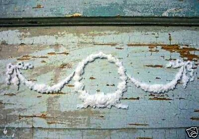 Shabby n Chic Baby Wreath w/ Swags * Cottage Furniture Appliques