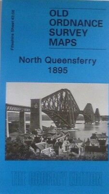 Old Ordnance Survey Maps North Queensferry Scotland  1895 Godfrey Edition