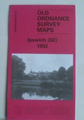 Old Ordnance Survey Maps Suffolk  Ipswich Se 1902 Godfrey Edition New