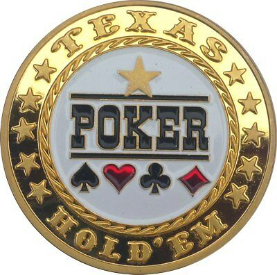 "UNIQUE POKER CARD GUARD 24K VERGOLDET ""Poker"""