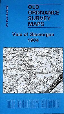 OLD ORDNANCE SURVEY MAPS VALE OF GLAMORGAN & MAP St Donat's  1904 Sheet 262 New