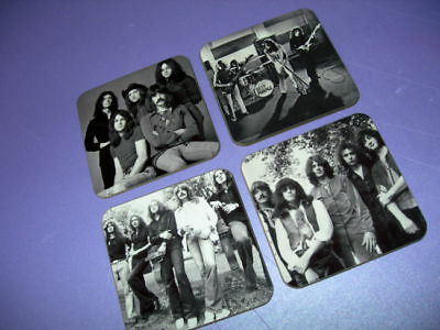 Deep Purple Photo Drinks Coaster Set