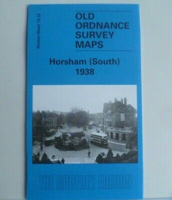 OLD ORDNANCE SURVEY DETAILED MAPS HORSHAM SOUTH SUSSEX 1938 SHEET 13.12 New