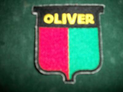 Oliver, Iron On Embroidered Cloth Patch, New