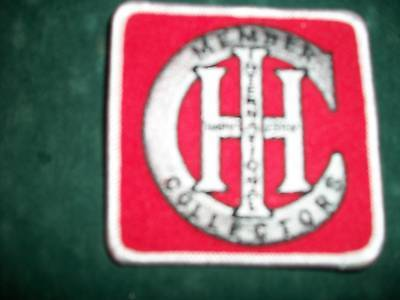Ih Member Collectors, Iron On Embroidered Cloth Patch,