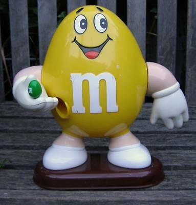 RARE 1992 MARS INCORPORATED M&M's CANDY DISPENSER