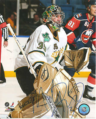 MARTY TURCO SIGNED 8X10 DALLAS STARS AUTO AUTOGRAPHED
