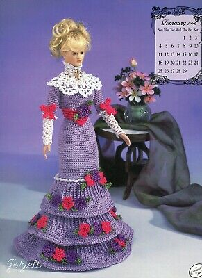 Gems of the South crochet pattern booklet NEW Miss July ~ fits Barbie dolls