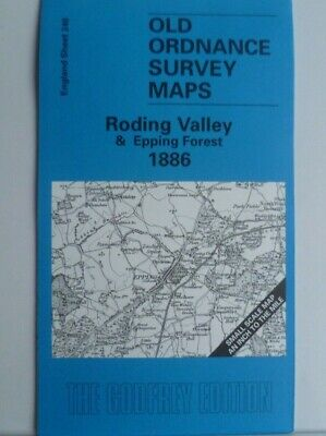 Old Ordnance Survey Maps Essex Roding Valley & Epping Forest 1886  Sheet 240 New