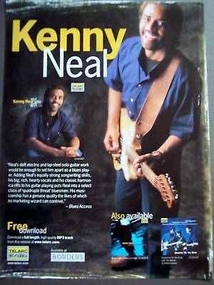 2000 Music Promo Ad Musician KENNY NEAL