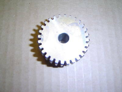 """NEW STEEL SPUR GEAR S1628 x 3/8"""" BORE SIZE."""
