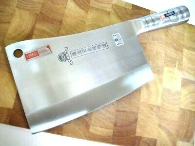 Quality Heavy Alloy Chopping Knife, marked Japanese steel, Fast Shipping & Track