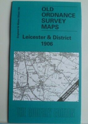 Old Ordnance Survey Maps Leicester & District map  Sileby 1906 Special Offer