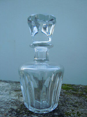 Flacon carafe cristal taille Baccarat France
