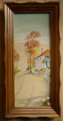 Eulalie Banks, Listed California Folk Art Impressionism Impressionist Calif Ca
