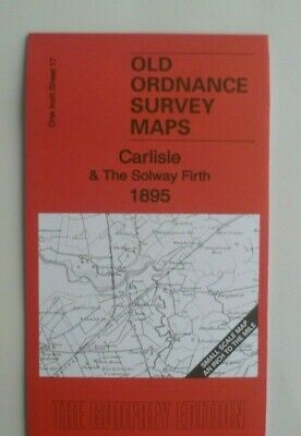 Old Ordnance Survey Maps Carlisle Solway Firth Bowness Map Kirkbride 1895 New