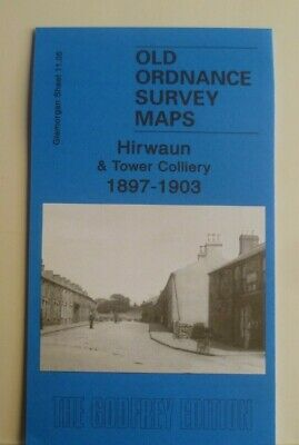 OLD ORDNANCE SURVEY MAP HIRWAUN & Tower Colliery 1897-1903 Special Offer