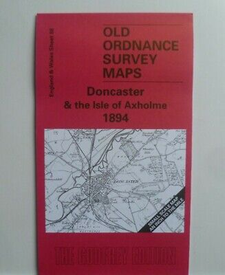 Old Ordnance Survey Map Doncaster & Isle Of Axholme & Plan Finningley 1894 S 88
