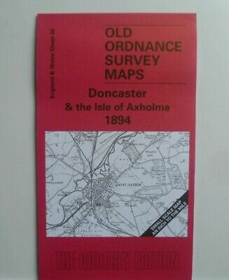 Old Ordnance Survey Maps Doncaster & Isle Of Axholme & Plan Finningley 1894 S 88
