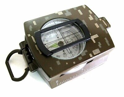 Quality Metal Prismatic Compass - Military Model - Sale!