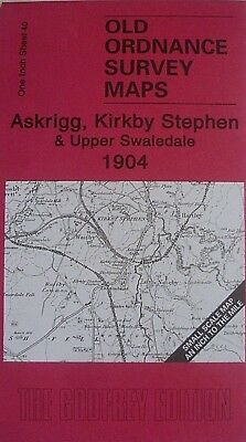 Old Ordnance Survey Maps  Askrigg Kirkby Stephen  & Map of Askrigg 1904 Sheet 40
