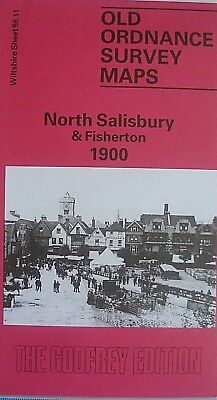 Old Ordnance Survey Maps  North Salisbury & Fisherton 1900 Sheet 66.11 New