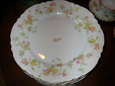 Hutschenreuther LHS Bavaria Maple Leaf Dinner Plate