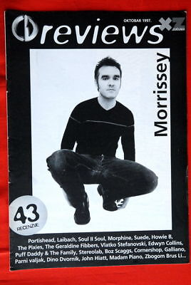Morrissey Smiths On Cover 1997 Exyu Magazine