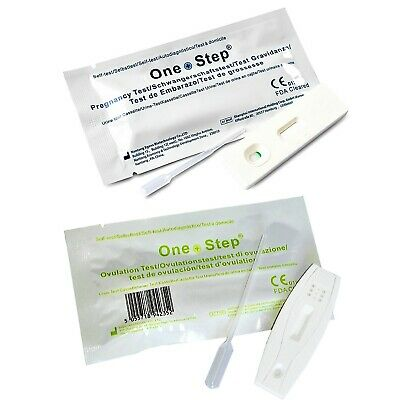 25 Ovulation and Pregnancy Urine Cassette Tests - You Choose - One Step®