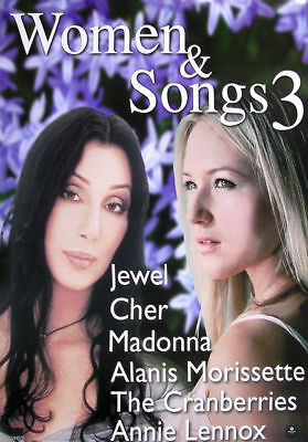 Women & Songs 3 Jewel Cher CD promo POSTER 18X24 mint